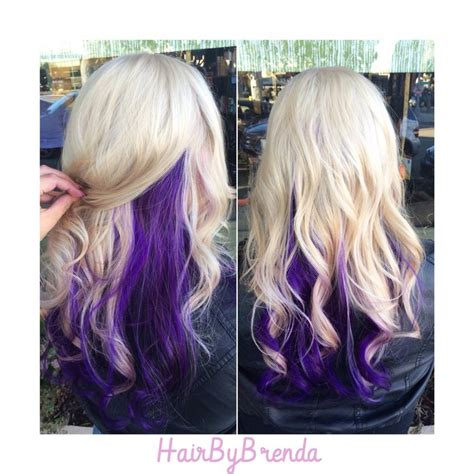 1000 Ideas About Purple Underneath Hair On Pinterest