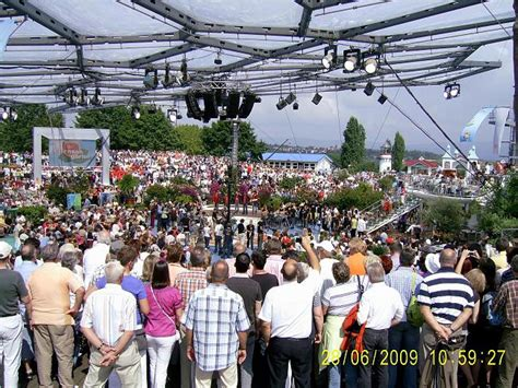 Vdkfrauengruppen Besuchten Fernsehgarten Mainz