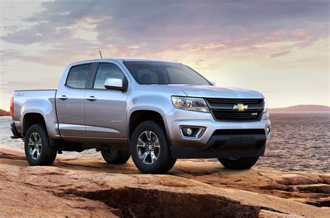 2015 Chevrolet Colorado & Gmc Canyon 4-cylinder Mpg Announced