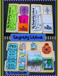 Interactive Geography Lapbook Kit