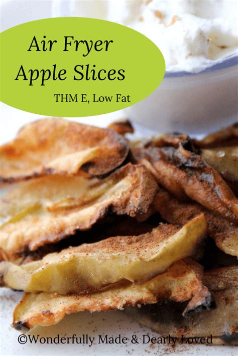 air fryer apple slices thm low fat alike snack wonderful adults quick children easy these