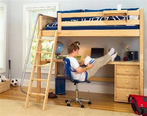 loft bed with desk for low ceiling build low ceiling bunk bed plans diy makita woodworking