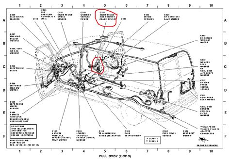 Ford E 250 Part Diagram by Service Manual How To Replace Airbag 2002 Ford Econoline