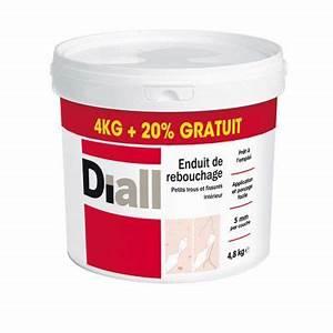 Temps De Sechage Enduit : diall enduit de rebouchage 4kg deal castorama ~ Dailycaller-alerts.com Idées de Décoration
