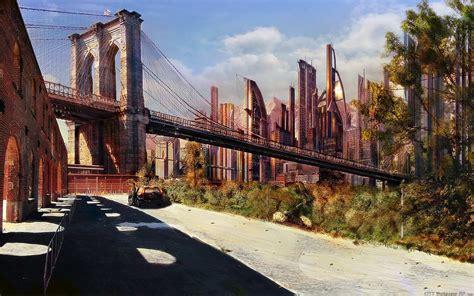 dessin ville de lavenir hq widescreen paysages urbains