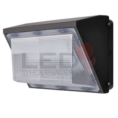 45 watt outdoor led wall pack security light fixture ul