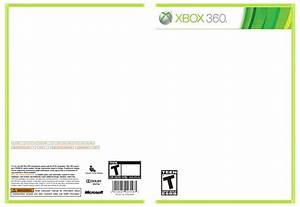 the gallery for gt xbox 360 game cover blank With video game cover template