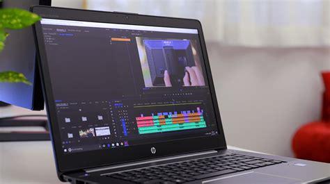 workstation laptop  adobe premiere pro cc