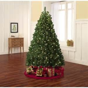 trim a home 6 5ft lighted mckinley pine tree christmas with kmart