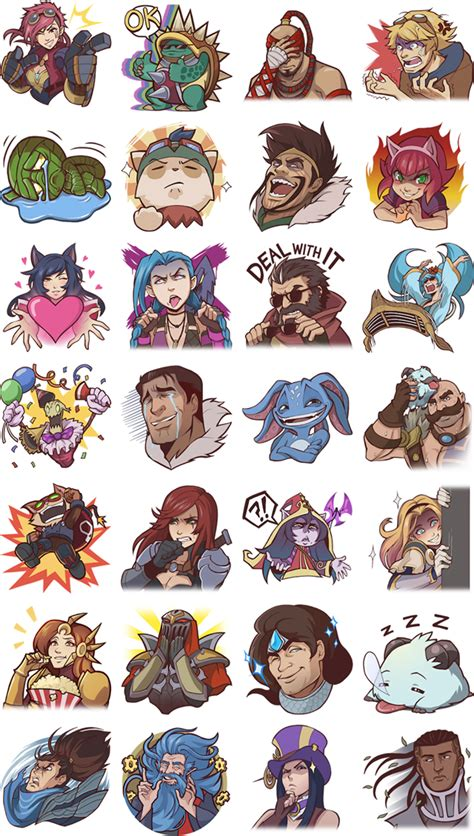 Meme Stickers For Facebook - funny facebook messenger stickers for league of legends league of legends fansite community