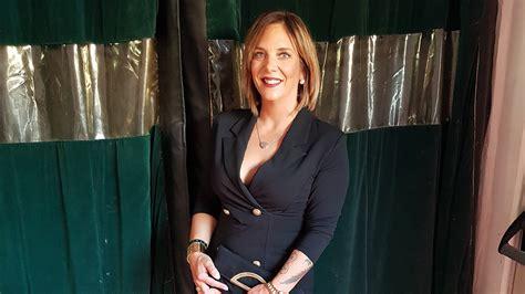 daniela buechner sexy blazerkleid beim megapark opening
