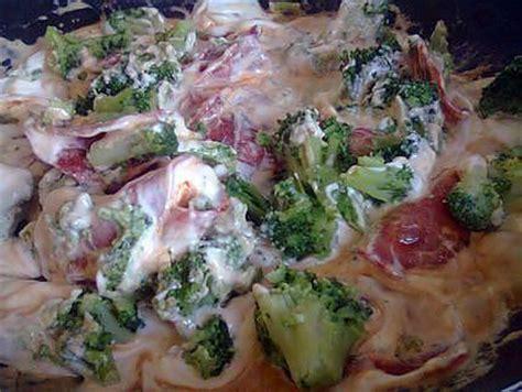 recette de pate sauce chorizo brocolis