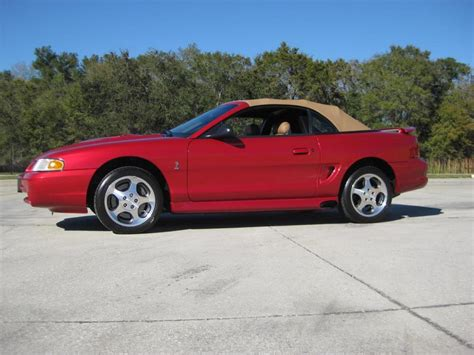 1996 Ford Mustang Svt Cobra Information And Photos