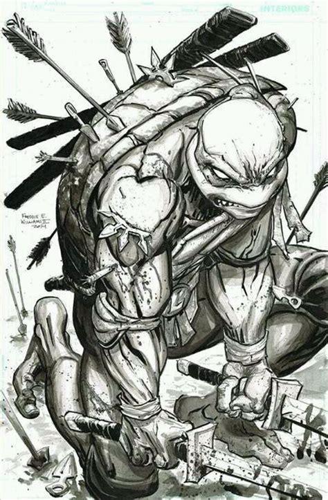 """Leonardo """" Teenage Turtles Mutan"""" Ninja dibujo Tortugas"""