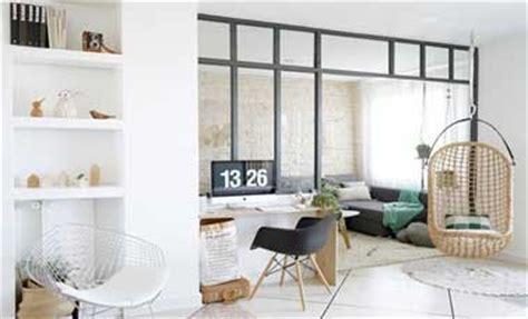 faire une chambre dans un salon une verrière atelier construite pour 400 deco cool