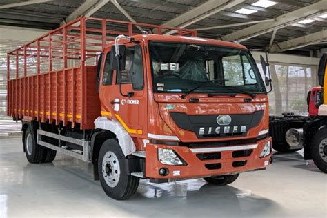 eicher trucks buses ready  indias  bs vi