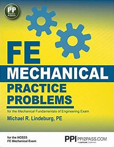 9781591264422  Fe Mechanical Practice Problems