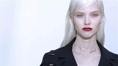 Sasha Luss Dior Christian Spring Couture Gifs