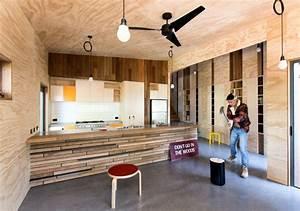 Mur Interieur En Bois De Coffrage : la d co bois de chantier parlons agglom r contreplaqu ~ Premium-room.com Idées de Décoration