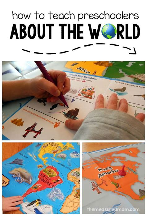 these geography activities for preschoolers will get them 377 | 5c793d2e66b07537120438e85ee49ac1 preschool learning activities activities for preschoolers