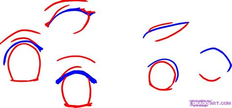 How To Draw Anime Eyes, Step By Step, Anime Eyes, Anime
