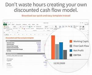Dcf Valuation Model Dcf Discounted Cash Flow Model Excel Template Eloquens