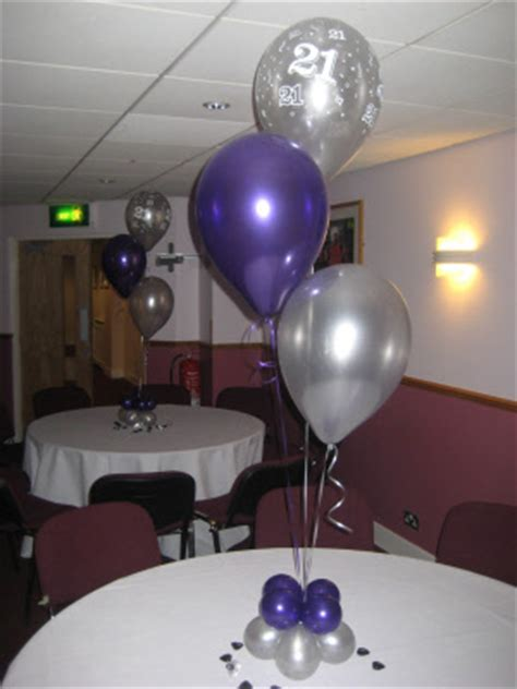 balloon table decorations