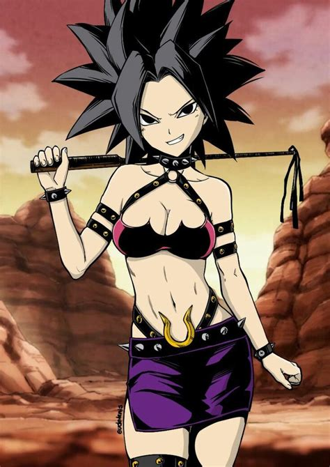 caulifla is going to teach you a lesson chica dragón dragon ball z y dragon ball