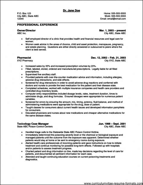 sle resume doctors office manager free sles