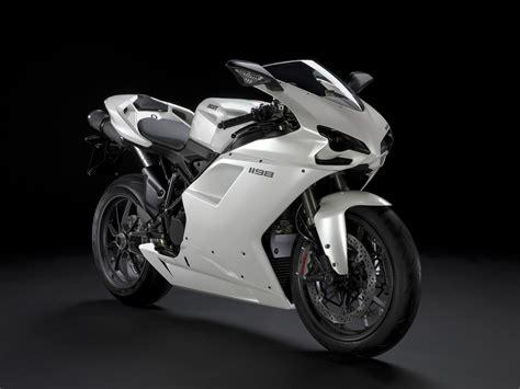 Ducati 1198 White Wallpapers