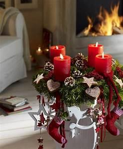 Weihnachtliche Deko Ideen : weihnachtliche deko und tischdeko essen und trinken ~ Markanthonyermac.com Haus und Dekorationen