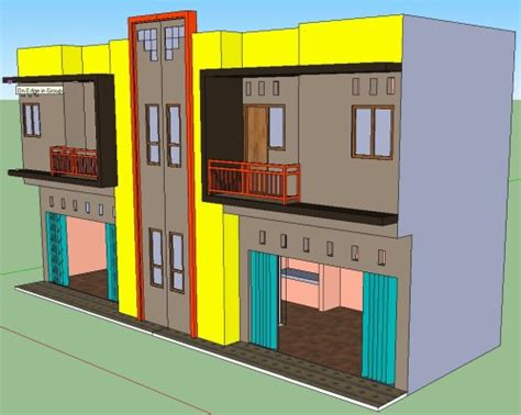 koleksi desain rumah minimalis modern  lantai