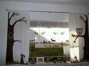 Vorhänge Babyzimmer Mädchen : kinderzimmer deko wald ~ Michelbontemps.com Haus und Dekorationen