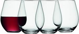 Wassergläser Mit Stiel : lsa weinglas wine ohne stiel 530ml klar 4er set kaufen ~ Buech-reservation.com Haus und Dekorationen