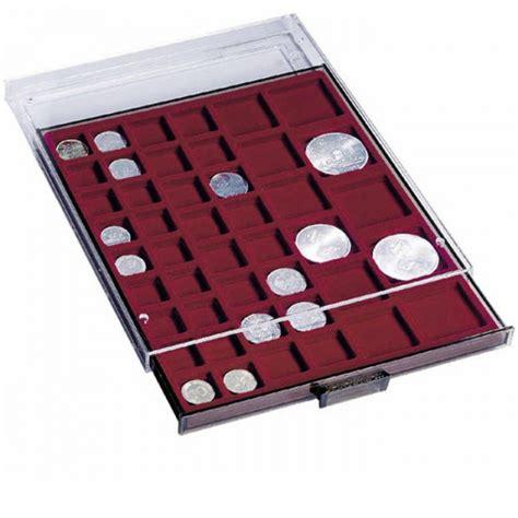 Monētu atvilkne MBMIX ar 45 kvadrātveida laukiem