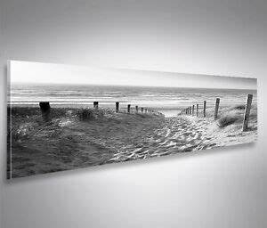 Nordsee Bilder Auf Leinwand : bild auf leinwand weg zum meer schwarz weiss nordseestrand panorama wandbild ebay ~ Watch28wear.com Haus und Dekorationen