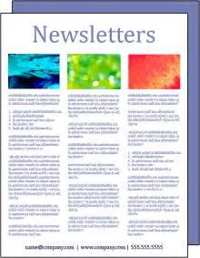 newsletter designer newsletter design beezdezines
