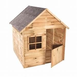 Maison De Jardin En Bois Enfant : cabane en bois pour enfant marina achat vente maisonnette ext rieure cdiscount ~ Dode.kayakingforconservation.com Idées de Décoration