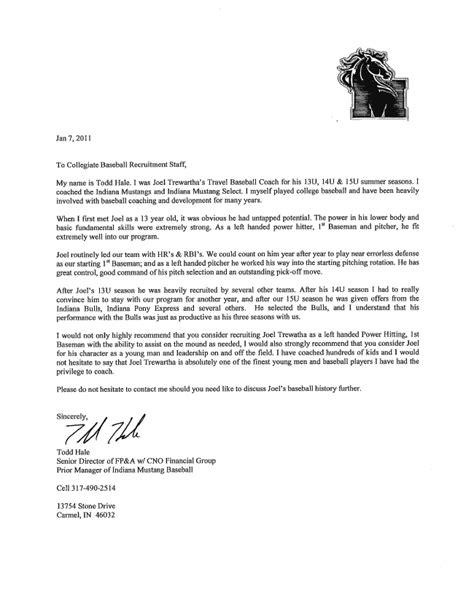 coach hales letter  recommendation joel trewartha