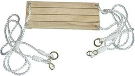 siege de balancoire siège en bois avec cordes pour balançoire accessoires