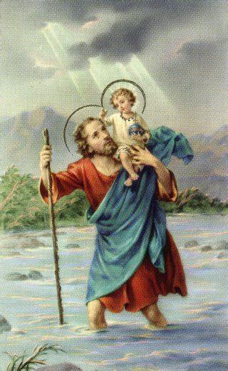 st christopher saint   week young catholic mums