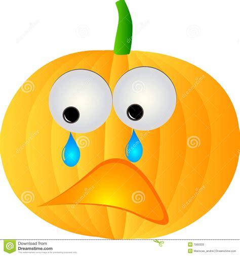 Halloween Faces For Pumpkins Carving by Sad Pumpkin Stock Photos Image 7060333