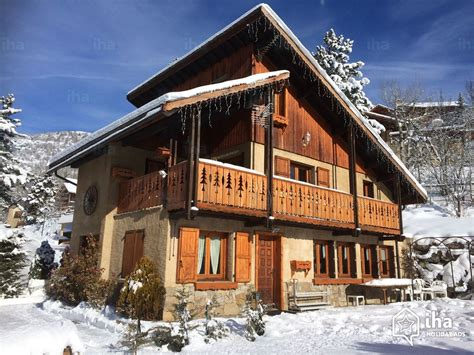 chalet for rent in serre chevalier 1400 villeneuve iha 25206