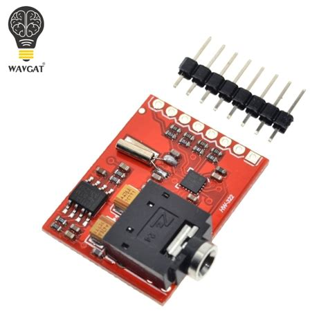 aliexpress com buy wavgat si4703 rds fm radio tuner evaluation breakout module for wavgat avr