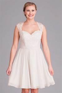 Robe Mariage Dentelle : robe blanche grande taille col queen anne en dentelle ~ Mglfilm.com Idées de Décoration