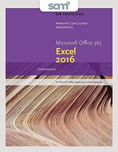 isbn 9781337216616 bundle new perspectives microsoft office 365 and excel 2016 comprehensive