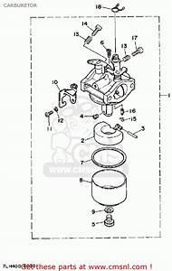 Yamaha Ef1600 Generator Carburetor