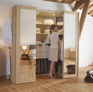 Dressing Petit Espace : des id es d am nagement de dressing des id es ~ Teatrodelosmanantiales.com Idées de Décoration