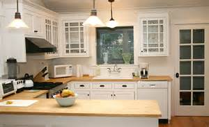 kitchens with a butcher block countertop kitchen decor