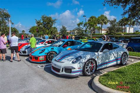 It's all the fun of cars & coffee but at night.and with racing now a part of it as well. Cars & Coffee Palm Beach June 2018 Recap